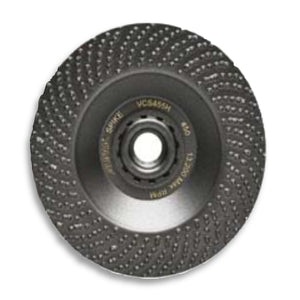 "Alpha SPIKE Diamond Grinding Disc, 4.5"" x 5/8-11"", 35 Grit, VCS453H"