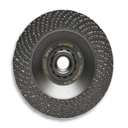 Alpha SPIKE Diamond Grinding Disc, 4.5