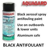 Aquagard Black Antifouling Spray Paint