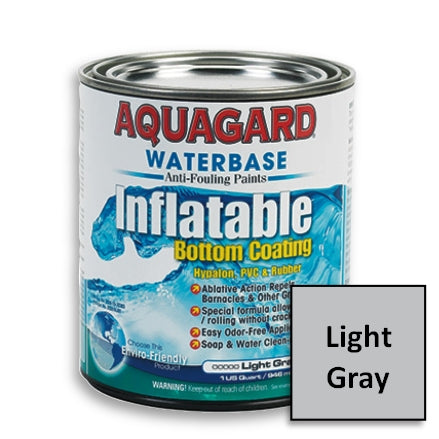 Aquagard Antifouling Inflatable Paint, Light Gray, 90007