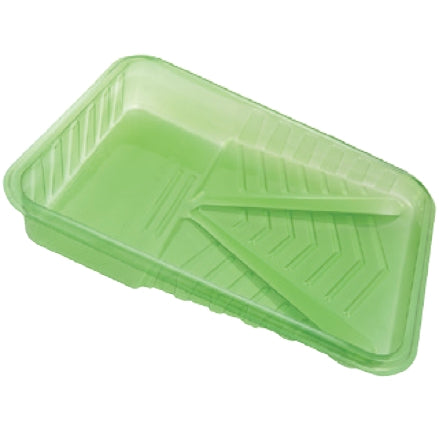 ArroWorthy Green Plastic Disposable Paint Trays for 9 Inch Rollers, 1 Qt, Case, RM422