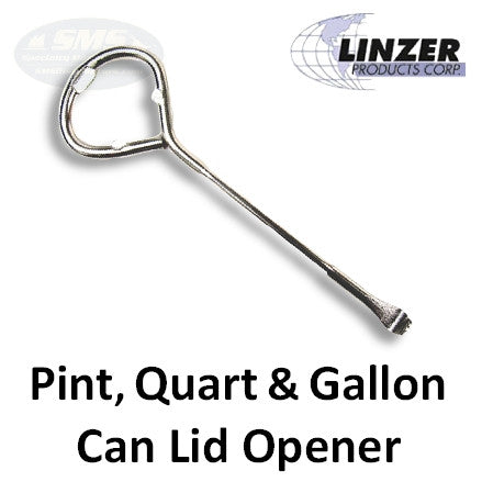 linzer 1 gallon paint can lid opener