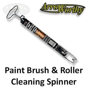 Arroworthy Spinner for Cleaning Brush and Rollers
