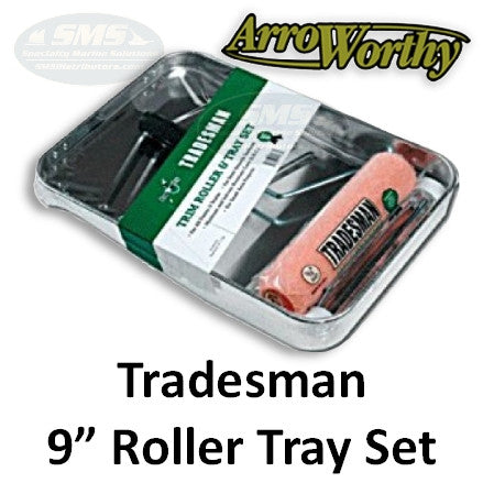 Arroworthy Tradesman Metal Tray Roller Set