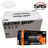SAS Safety ASTRO GRIP Textured 7 mil Nitrile Powder-Free Gloves