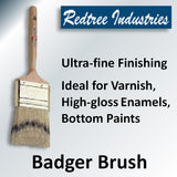 Redtree Original Badger Hair Varnish Brushes