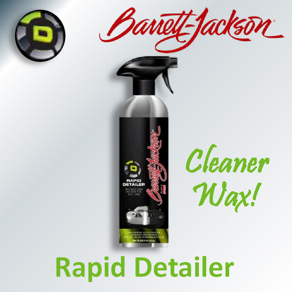 Rapid Detailer Cleaner & Wax by Barrett-Jackson Signature Car Care
