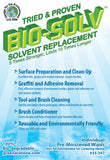 Bio-Solv Green Solvent Wipes