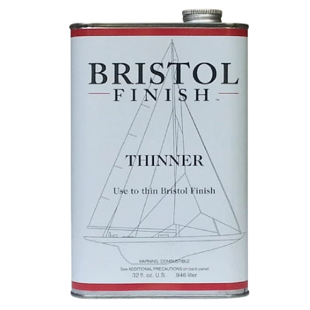 Bristol Finish Thinner, 1 Qt, BF-THIN32