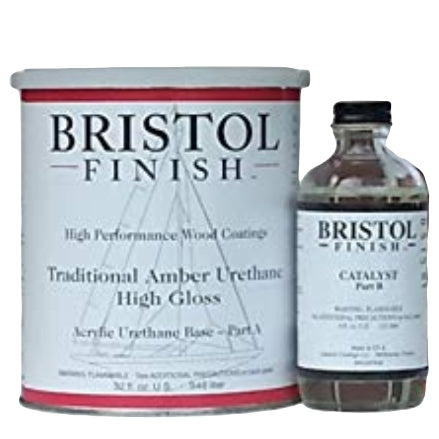 Bristol Finish Traditional Amber Urethane Wood Finish, 1 Qt Kit, BF-QA
