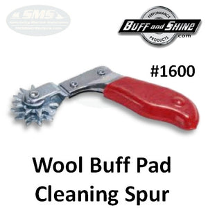 Buff Pad Cleaning Spur