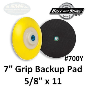 "7"" Backup Pad, Flex Edge"