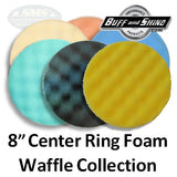 Buff and Shine Foam Waffle Buff Pad Collection