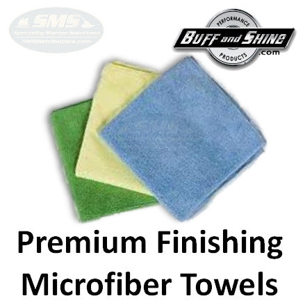 Microfiber Towels, Premium Finishing Cloth