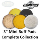 "Buff & Shine 3"" Buff Pad Collection"