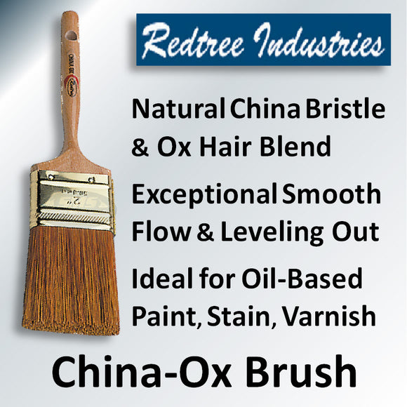 China Ox Varnish Brushes