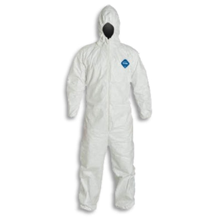 DuPont Tyvek 127S Hooded Protective Suit Coveralls