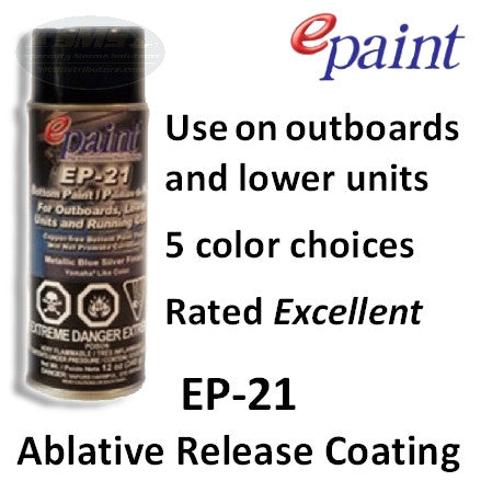 EP-21 Aerosol Paint for Outdrives & Running Gear