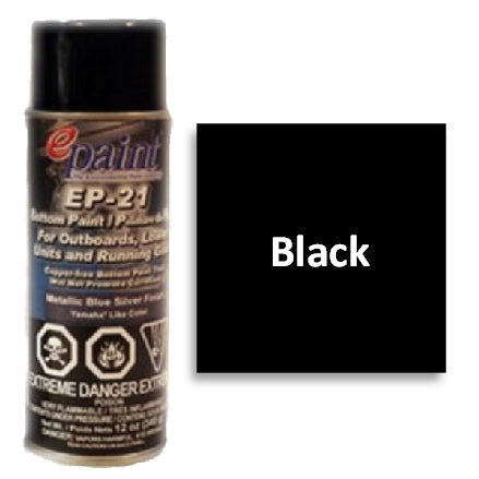 EPaint EP-21 Aerosol for Outdrives & Running Gear, Black, EP21A-301