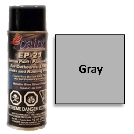 EPaint EP-21 Aerosol for Outdrives & Running Gear, Gray, EP21A-701