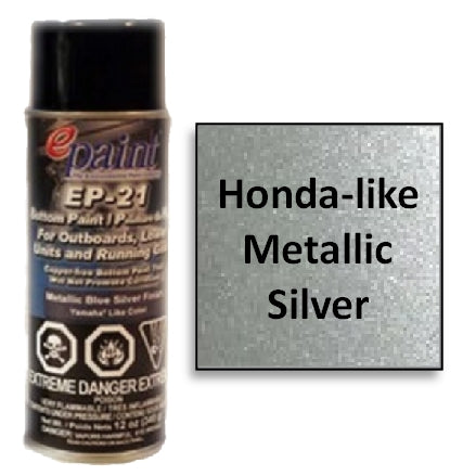 EPaint EP-21 Aerosol for Outdrives & Running Gear, Metallic Silver, EP-21A-MS