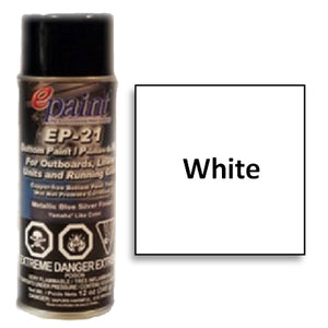 EPaint EP-21 Aerosol for Outdrives & Running Gear, White, EP21A-401