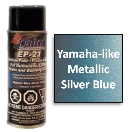 EPaint EP-21 Aerosol for Outdrives & Running Gear, Metallic Silver Blue, EP-21A-MSB