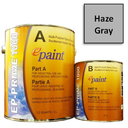 EPaint EP-PRIME 1000 Multi-Purpose Epoxy Primer, Haze Gray, P1000-705-G