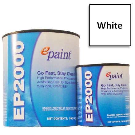 EPaint EP-2000 Antifouling Paint, White, EP-401