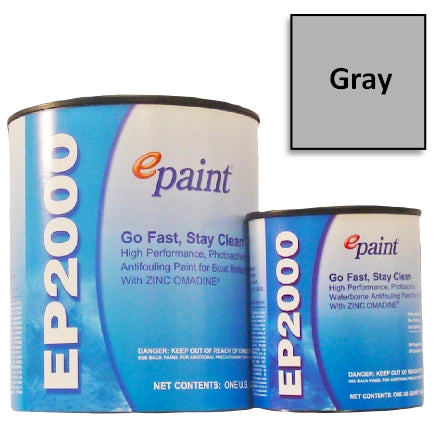 EPaint EP-2000 Antifouling Paint, Gray, EP-701