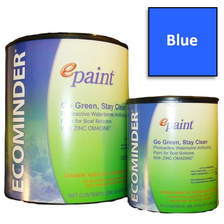EPaint Ecominder Antifouling Boat Bottom Paint, Blue