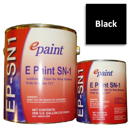 EPaint SN-1 Antifouling Paint, Black