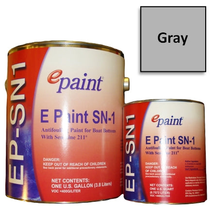 EPaint SN-1 Antifouling Paint, Gray