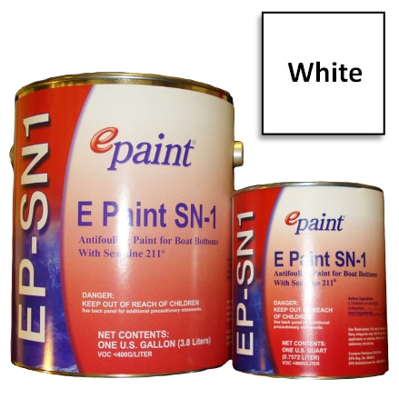 EPaint SN-1 Antifouling Paint, White
