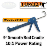 "Durango 9"" Caulking Gun, Smooth Rod, 10:1 Power"