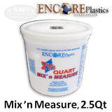 Encore 2.5 Quart Mix n' Measure Container