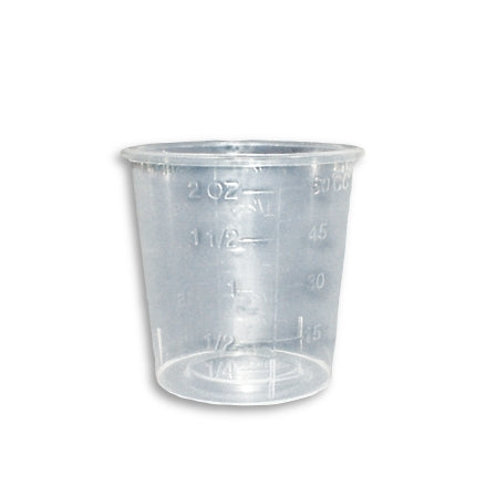Encore Plastics 2 Ounce Mix n' Measure Container, ENC-20002