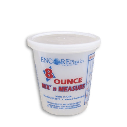 Encore 8 Ounce Mix n' Measure Container