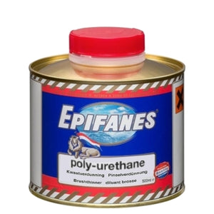 Epifanes Thinner for Brushing Poly-Urethane, 500ml, PUTB.500