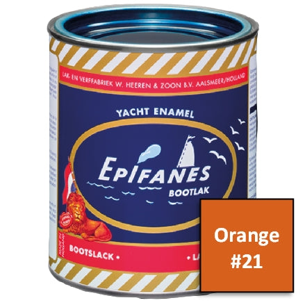 Epifanes Yacht Enamel, #21 Orange, 750ml, YE021.750