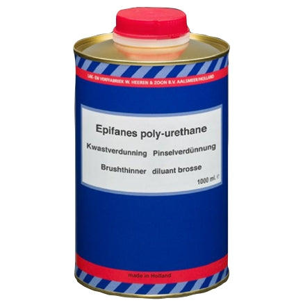 Epifanes Thinner for Brushing Poly-Urethane, PUTB.1000