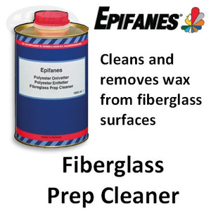 Epifanes Fiberglass Prep Cleaner and Wax Remover