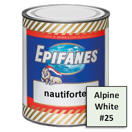 Epifanes Nautiforte Topside Paint, #25 Alpine White, 750ml, NF25.750, 2