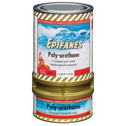 Epifanes Polyurethane Clear Satin Finish, PUCS.750