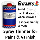 Epifanes Thinner for Spraying Paint & Varnish, 1000ml, TPVS.1000, 3