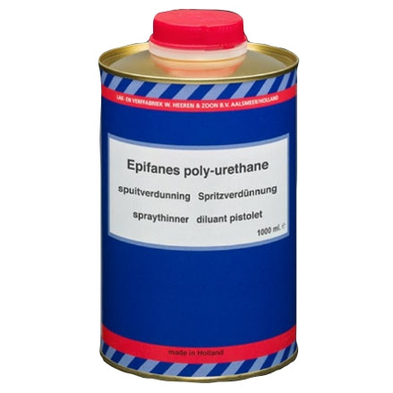 Epifanes Thinner for Spraying Poly-Urethane, PUTS.1000