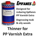 Epifanes Thinner for PP Varnish Extra, TPPX.1000,3