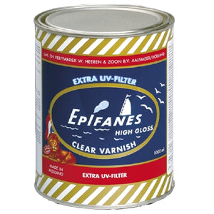 Epifanes Clear Gloss Varnish, 1000ml, CV.1000