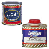 Epifanes Clear Gloss Varnish, CV.250 Plus Brushing Thinner
