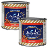 Epifanes Clear Gloss Varnish, 500ml, CV.500, two cans